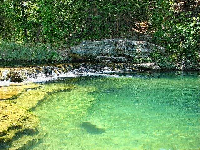 Travertine Creek in Sulphur Oklahoma :) One of our many hidden spots ;)