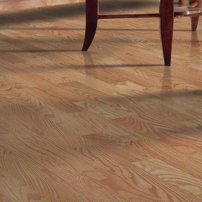 "Mohawk Randhurst SWF 3-1/4"" Solid Oak Hardwood Flooring in Red Natural"