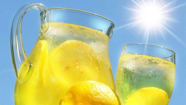 лимонад из концентрированного лимонного сока