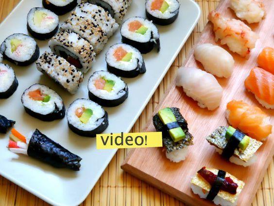 Cómo hacer sushi casero: 5 pasos para no morir en el intento. La receta más fácil que tengo, a mí me salió bien desde la primera vez. ¡Anímense!