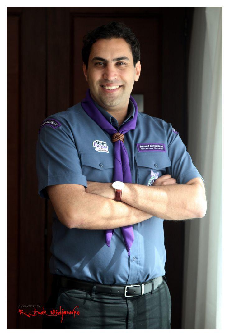 Selamat Datang Sekretaris Jenderal Baru Gerakan Kepanduan Sedunia    Selengkapnya : http://www.kompasiana.com/bertysinaulan/selamat-datang-sekretaris-jenderal-baru-gerakan-kepanduan-sedunia_58b63d4fb47a61930431989d    Ahmad Alhendawi (Photo by R. Andi Widjanarko #ISJ003)  Scout Journalist World Organization of Scout Movement #ISJ #scoutjournalist #WOSM #worldscouting