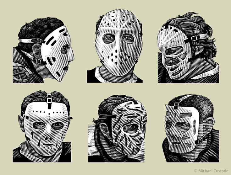 Goalie masks