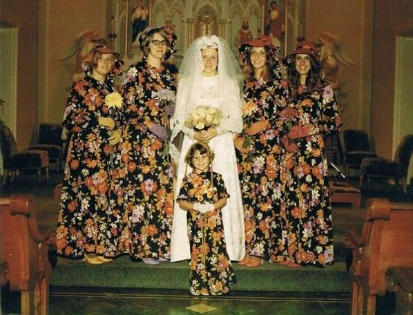 Worst Bridesmaid Wedding Dresses Ever ---- hilarious jokes funny pictures walmart humor fails