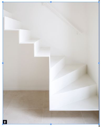 zwevende metalen trap, voor onze huurwoning?