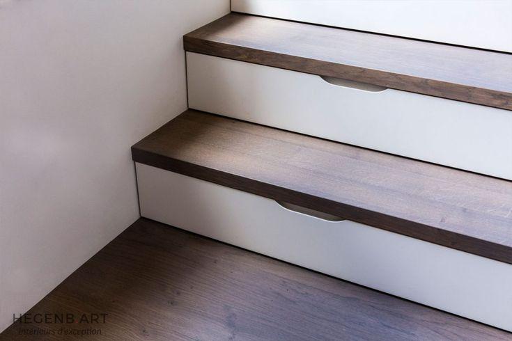 1000 id es sur le th me tiroirs d 39 escalier sur pinterest lits mezzanine - Tiroir dans escalier ...