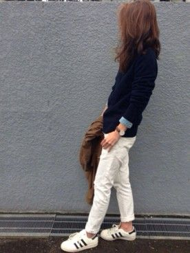 yuko│JOURNAL STANDARDのメガネコーディネート