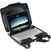Pelican HardBack i1075 Carrying Case for iPad - Black - Dust Proof, Crush Proof - Acrylonitrile Butadiene Styrene (ABS)