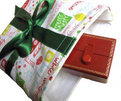 Tutorial for Eco Christmas Gift Wrap