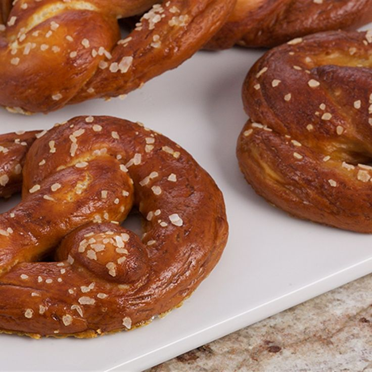 Try this Soft Pretzels recipe by Chef Anna Olson. This recipe is from the show Bake With Anna.