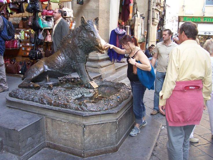 La+fontana+del+Porcellino+a+Firenze