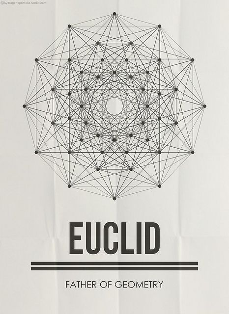 Euclid is most famously known for the explanations and reports of the Ancient Greek mathematics. Father of Geometry – Sacred Geometry