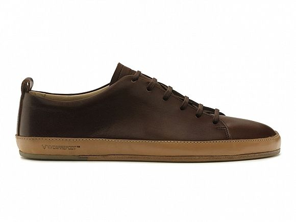 Bannister, Minimalist Leather Sneaker by Vivobarefoot