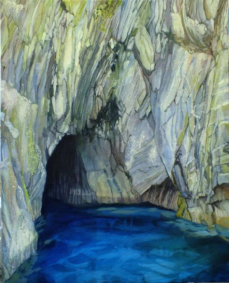 """Saatchi Art Исполнитель Lara Cobden;  Картина, """"Посадка в Коув слепого человека"""" #art   1400$"""