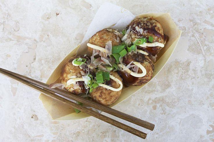 """Takoyaki – japanske """"æbleskiver"""""""
