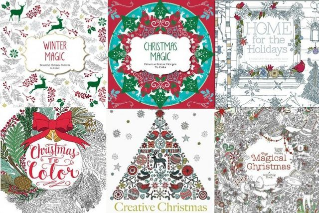 Free Christmas Adult Coloring Pages | U Create | Bloglovin'