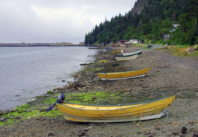 Fishing boats on Grand Manan Island, New Brunswick