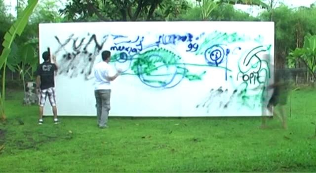 99designs Yogyakarta , Indonesia Meetup Mural Project
