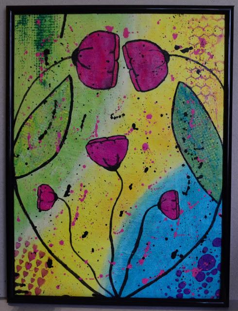 A3 mixed media painting  http://mixmedia.shopmania.biz/