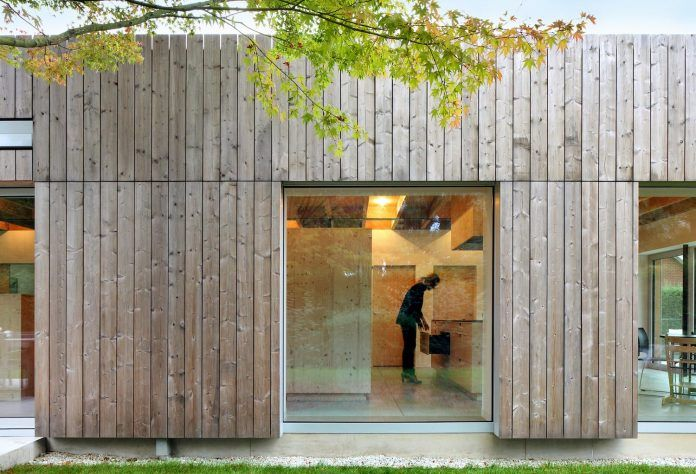 Bunga LOW: thermowood cladding gives the facades a modern look - CAANdesign