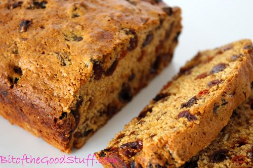 Low Calorie Loaf Cake Recipes: English Fruity Tea Loaf (Dairy-free / Egg-free / Fat-free