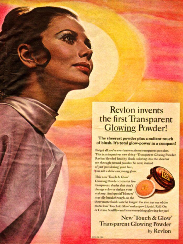 1960s Vintage Advertisement Revlon Makeup