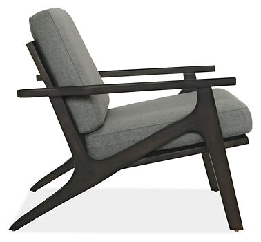 Sanna Chair in Charcoal - Chairs - Living - Room & Board - also in blue, other colors