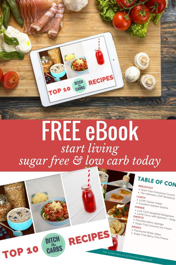 Come And Grab Your Free Ebook Today And Start Living Sugar Free And Low  Carb Now