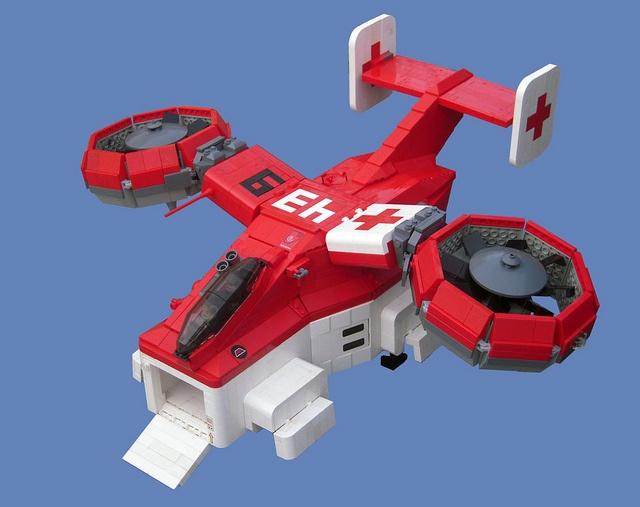 LEGO medicevac439 by legodrome