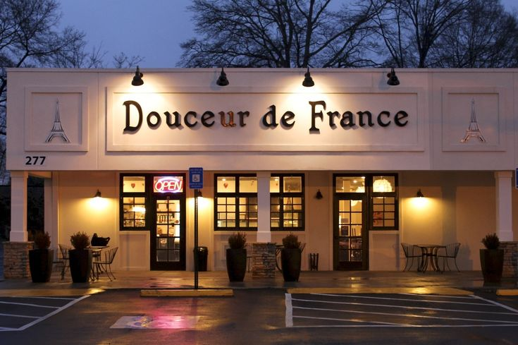 Douceur de France Marietta -  We love this little french bakery and cafe!!!