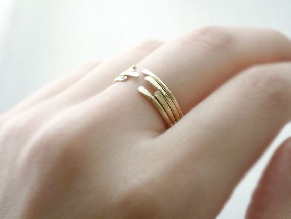 Stacking ring- hammered thin brass - minimal modern jewelry. $10.00, via Etsy.: Minimal Jewellery, Minimal Modern, Fashion Rings, Fashion Jewelry, Jewelry Inspo, Stacking Rings, Pretty Jewelry, Modern Jewelry, Details Details