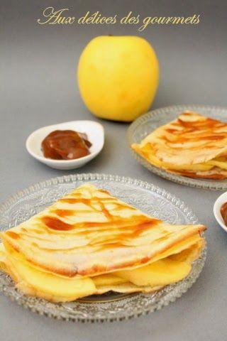 Crêpes pomme-caramel au beurre salé