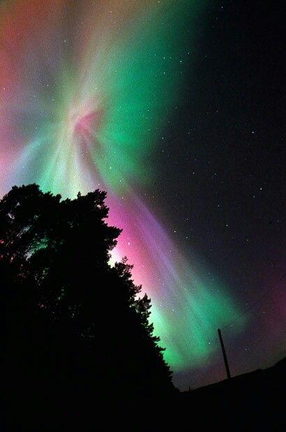 British Aurora Borealis Northern Lights I