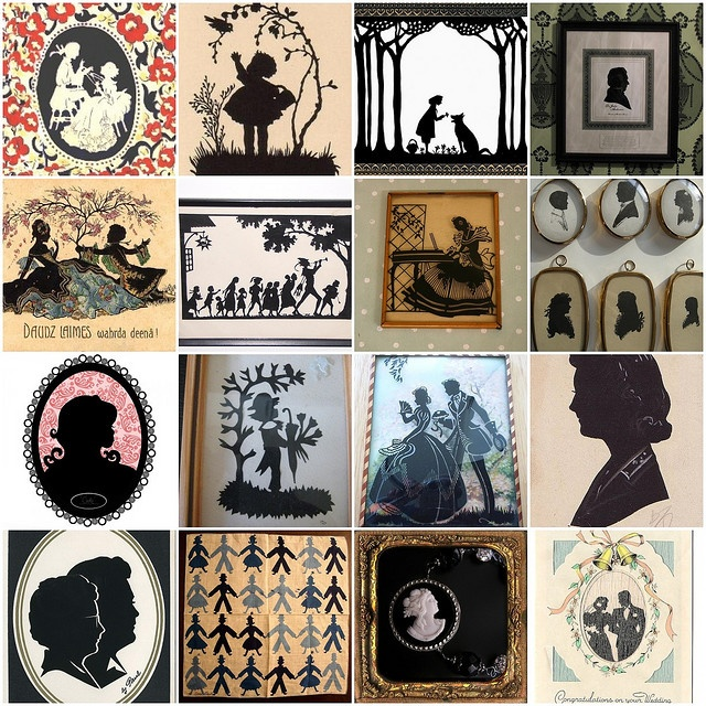 flickr mosaic silhouettes