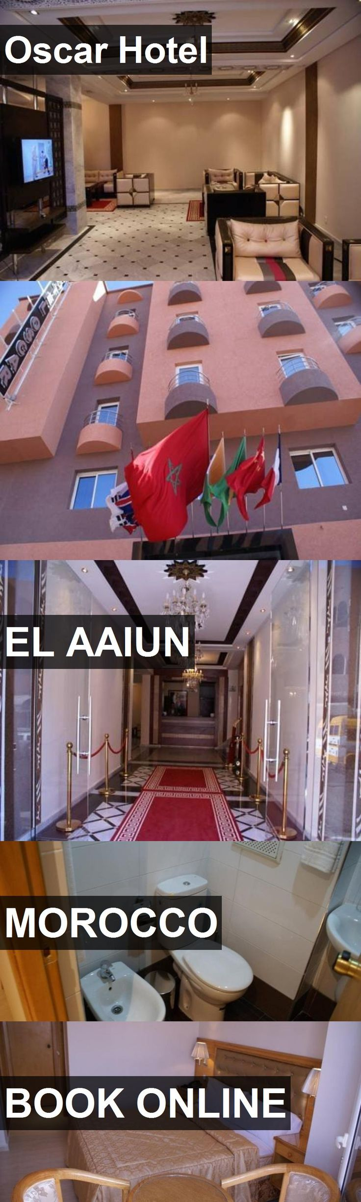 Oscar Hotel in El Aaiun, Morocco. For more information, photos, reviews and best prices please follow the link. #Morocco #ElAaiun #travel #vacation #hotel
