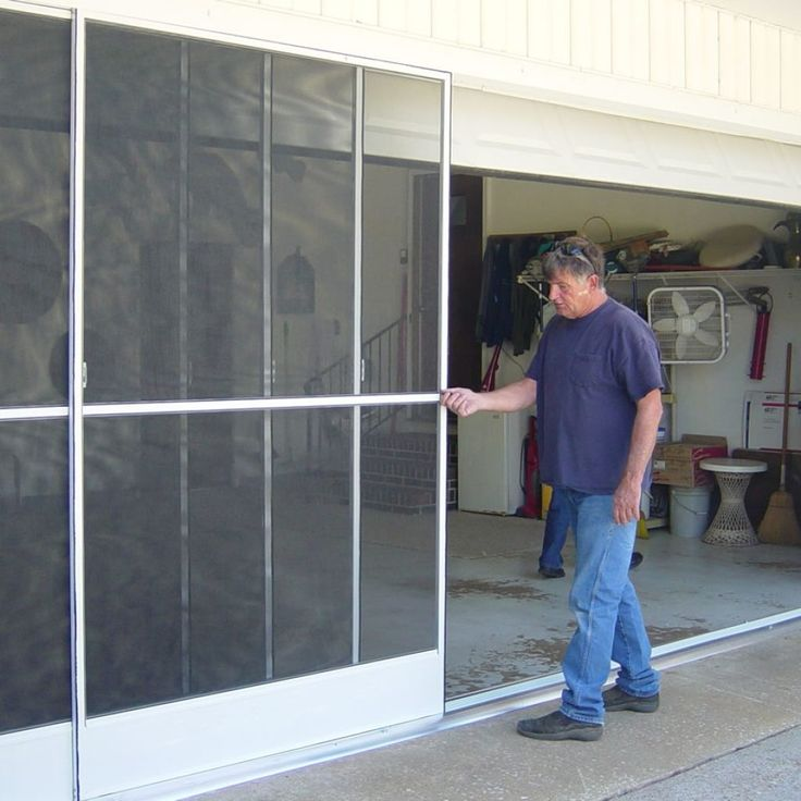 Sliding Garage Door Screen Panels