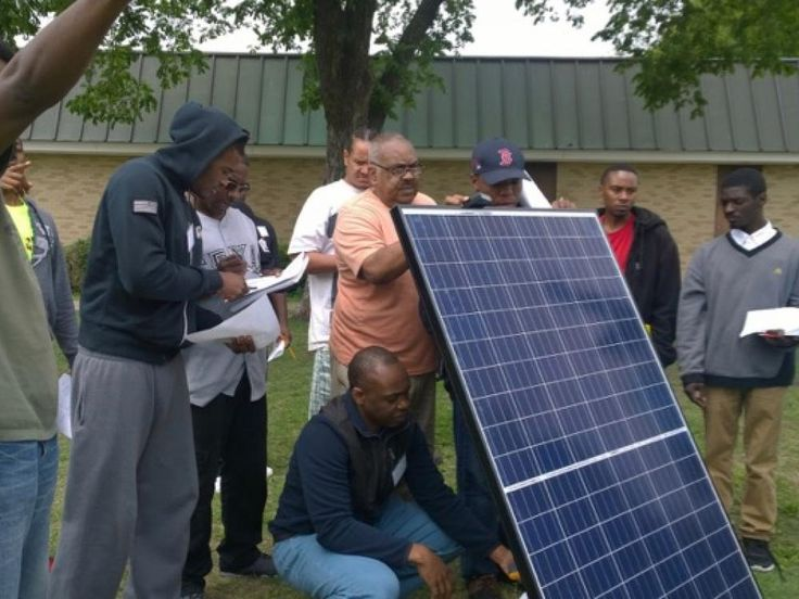Good Faith Impact is training residents in South Dallas for renewable energy jobs & educating them about the cost-saving and environmental benefits of solar
