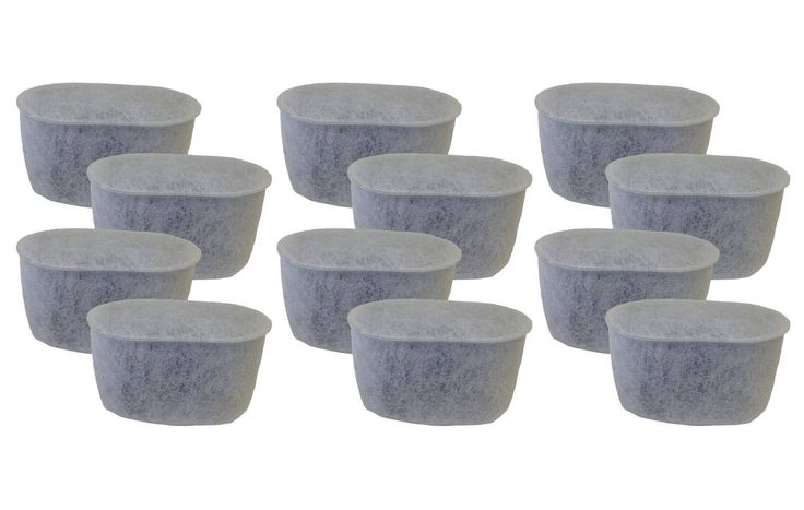 12 Cuisinart DCC-RWF Charcoal Water Filters Fit Cuisinart Coffee Makers