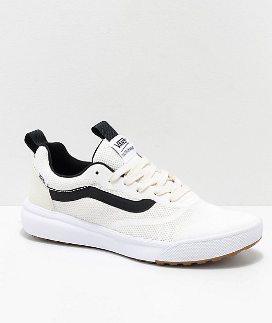 6268e21525ed3e Vans UltraRange Rapidweld Marshmallow   White Shoes