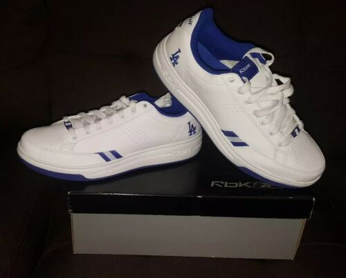 timeless design ccb2e dc4fe G unit REEBOK Shoes Size 12 Men s LA Dodgers Blue and white baseball Rap