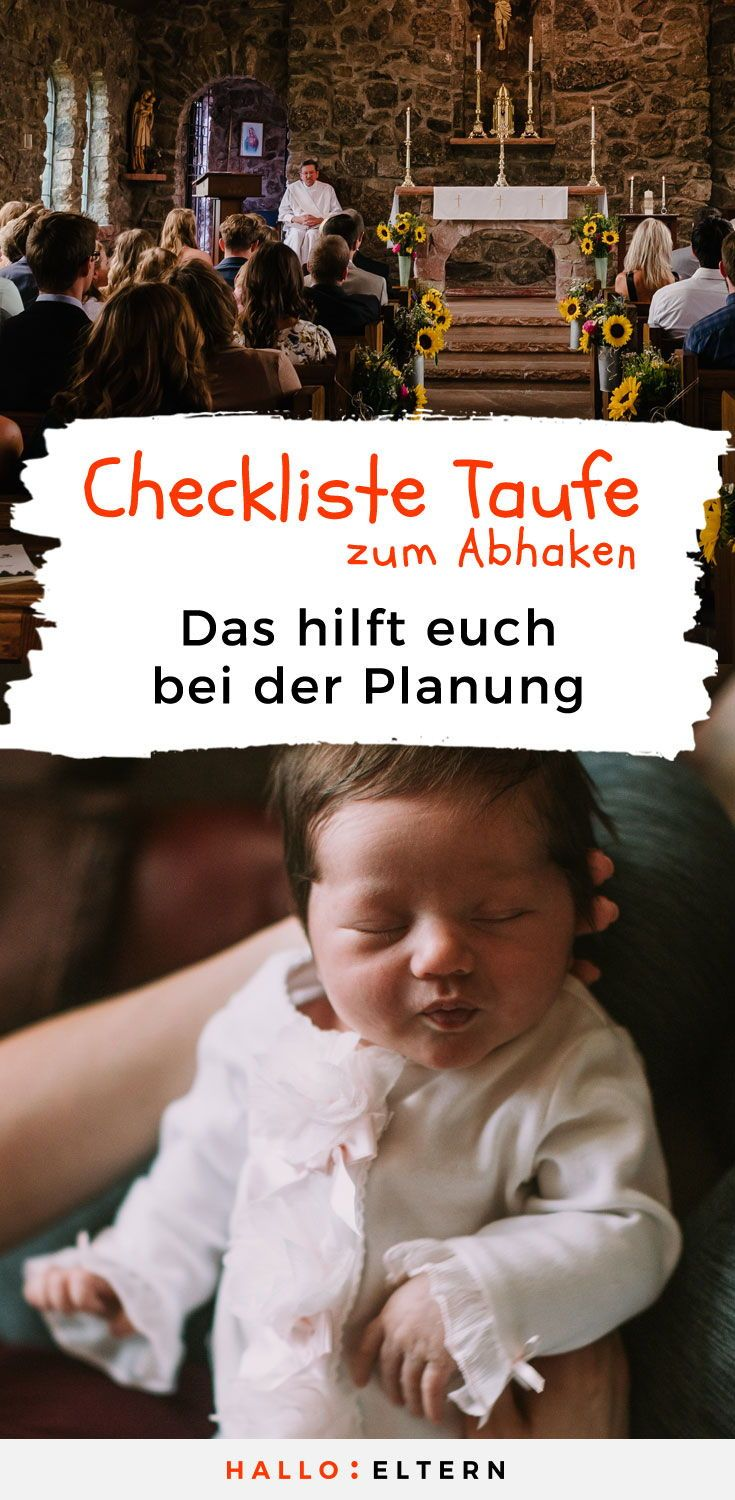 Baby-Taufe Checkliste – Lisa Wagner