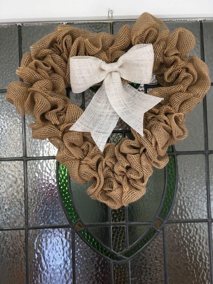 Heart Burlap wreath https://www.etsy.com/uk/shop/Roseybuddles?ref=search_shop_redirect