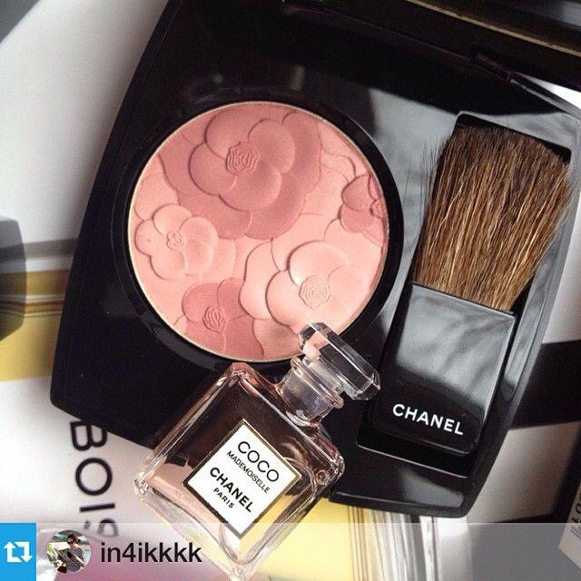 Chanel Spring 2015 Makeup | JARDIN DE CHANEL Blush Camélia Rosé