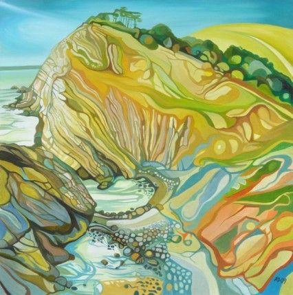The Stair by Anna Dillon (Dorset coast near Lulworth)