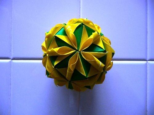折り紙の:折り紙 まり 折り方-jp.pinterest.com