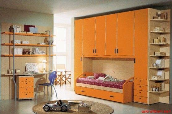 Canlı Renklere Sahip Genç Odaları ---- http://www.askrehberi.net/canli-renklere-sahip-genc-odalari.html