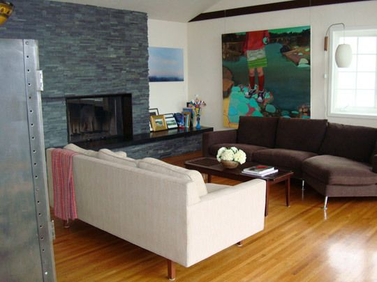 Living Rooms Without Rugs