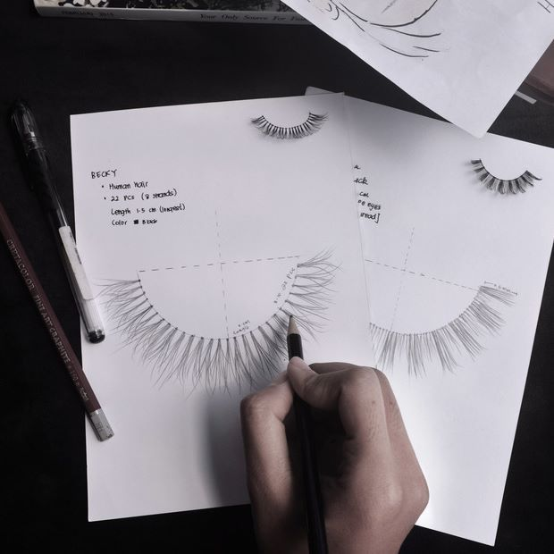 We designed each lashes with passion to achieve most natural looking lashes for all different eye types. All of our products are handmade with the highest quality.  #djslashes #couture #bespoke #lashesbespoke #falselashes #vegancosmetics #veganmakeup #crueltyfree #lashesid #lashesph #crueltyfreelashes #bespokelashes #hautecouture #muaph #muaid #mua #makeupartist #sephora #design #beauty #fashiondesign #sketch #beautydesign