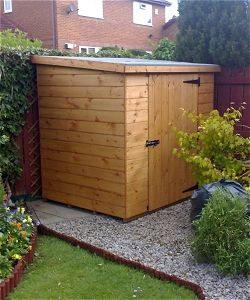 Small Garden Shed wooden sheds