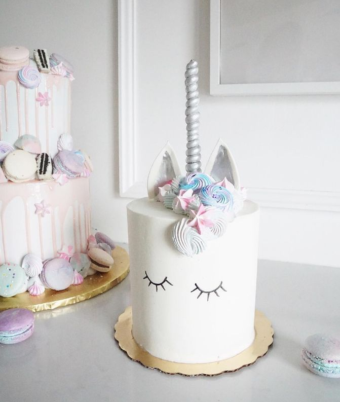 They've upgraded the unicorn cakes! Does that excite you? Apparently, unicorn cakes are all the rage.