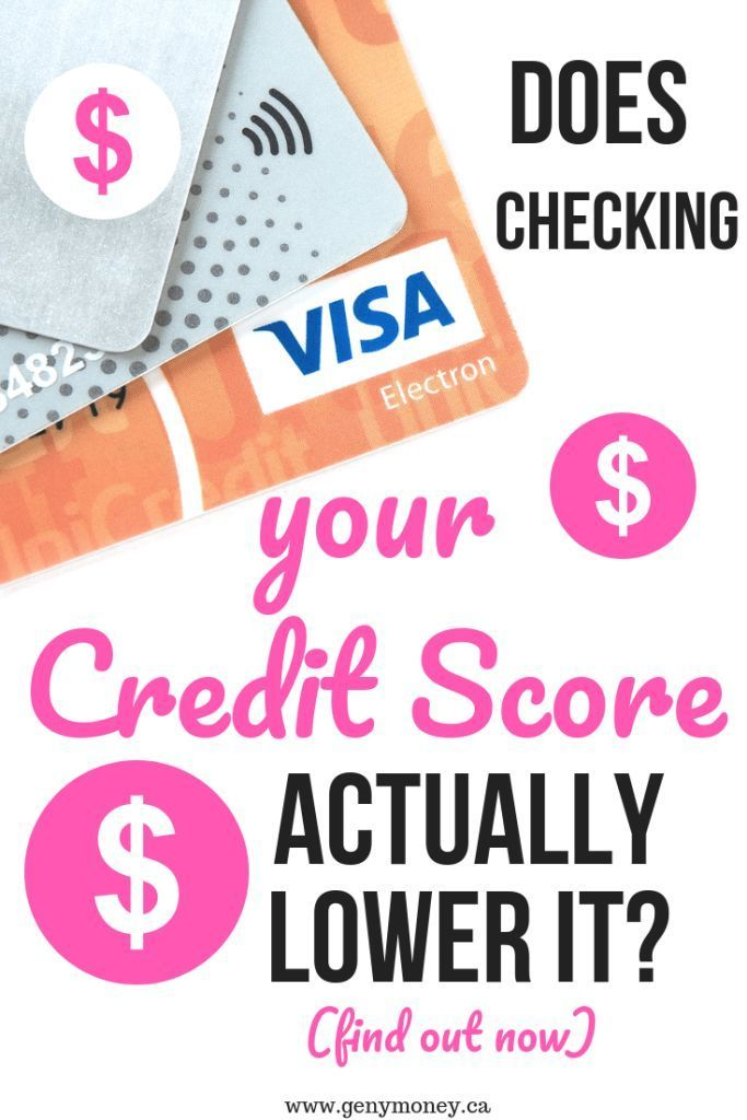 Does Checking Your Credit Score Lower It Credit Score Check